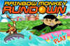 Jeu  rainbow monkey rundown