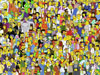 Puzzle  les simpsons et leurs amis