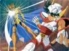 Puzzle  mangas : Lion contre Pegase