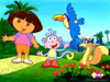 Puzzle  dora et ses amis